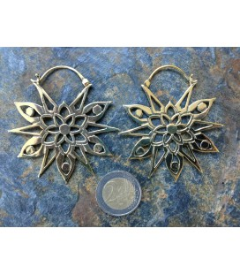 AL NIYAT by S.HECHES (brass earrings)