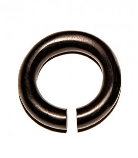 EBONY LARGE RING