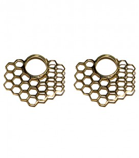 BEE YOU (POUR OREILLES STRETCHEES 2 mm ) - VENDUES PAR PAIRE