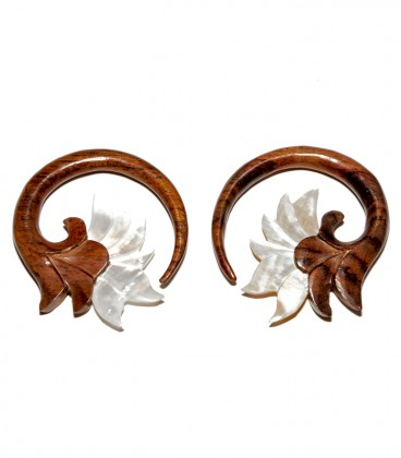 BALI MOOD (wood and shell. 6.5mm)