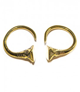 BERBER BRASS EARING (sold by piece)