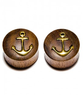 Anchor brass sono wood