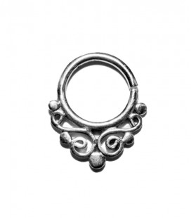 Septum 15- 1,2mm- Plain silver