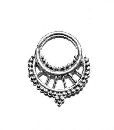 Septum 19 1,2mm silver plated