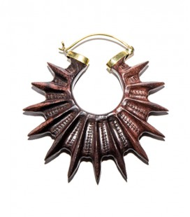 SPIKY WOOD(wood and brass)
