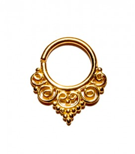 septum 70-1,2mm-Silver,gold plated