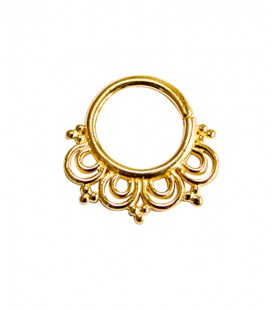 septum 71-1,2mm-Silver,gold plated