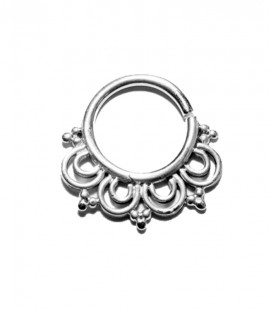 septum 77-1,2mm-Silver