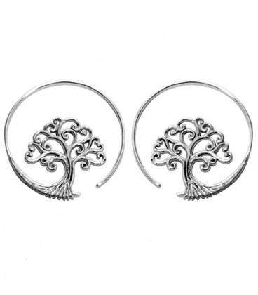 TREE OF LIFE SILVERED