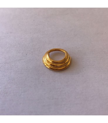 SEPTUM 86-PLAIN SILVER GOLD PLATED