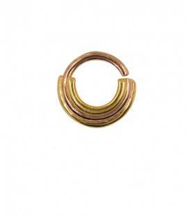 Septum 87- 1,2mm -Plain silver rose gold plated