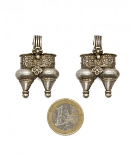 OLD TRIBAL INDIAN EARRINGS