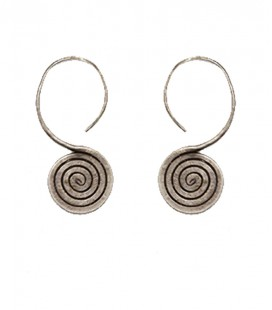 OLD INDIAN TRIBAL EARRINGS
