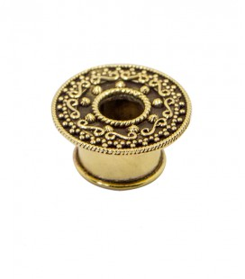 Warrior brass plug