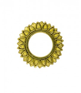SUN FLOWER BRASS HOLLOW