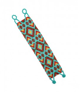 ETHNIC BRACELET.WEAVING