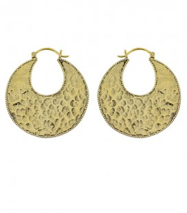 THE WILD TRIBE (BRASS EARRINGS) by Sandrine Heches