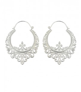 BAROQUE (BRASS SILVER PLATED)