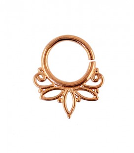 septum 67-1,2mm-Silver,rose gold plated