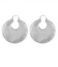 BERBER (BRASS SILVER PLATED EARRINGS )