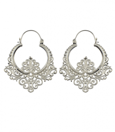 BAROQUE 2- BRASS SILVER PLATED