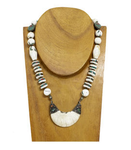 NAGA ANTIQUE TRIBAL NECKLACE