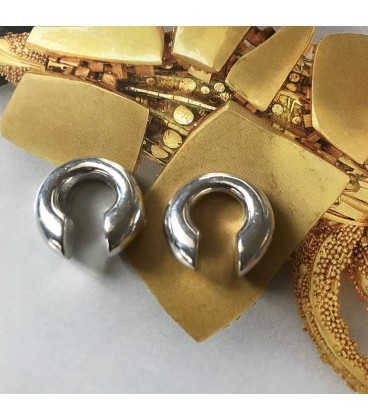 RING BRASS WEIGHT (7mm.Brass silver plated)