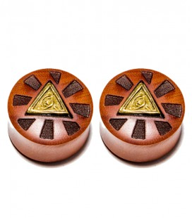 Brass illuminati sawo wood