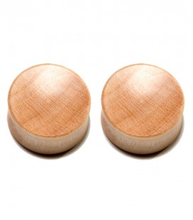 CROCODILE WOOD CONCAVE PLUG