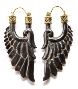 BLACK DREAMS (Buffalo horn) ****SALES***SOLDES