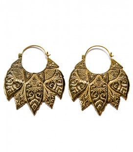 CARVED LEAF( Brass) - SOLD BY PAIR
