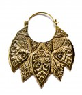 Carved Leafs Brass