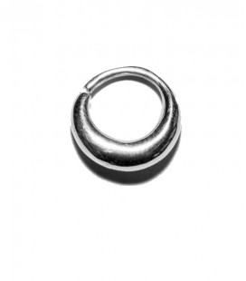 Septum 12 1,2mm silver plated