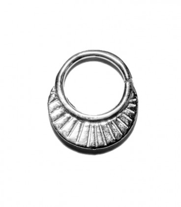 Septum 13 1,2mm silver plated