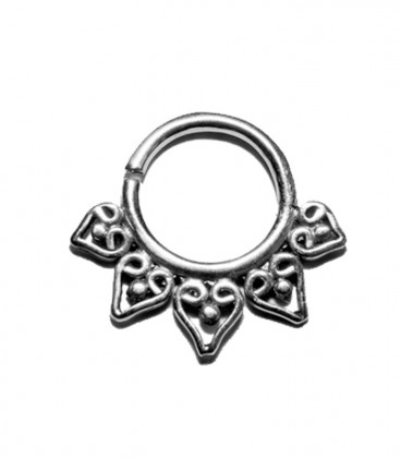 Septum 16 1,2mm silver plated