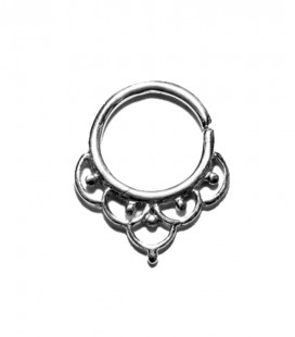 Septum 17- 1,2mm- Plain silver