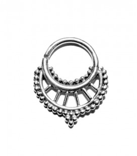 Septum 19- 1,2mm-Plain silver