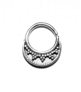 Septum 20 -1,2mm-Plain silver