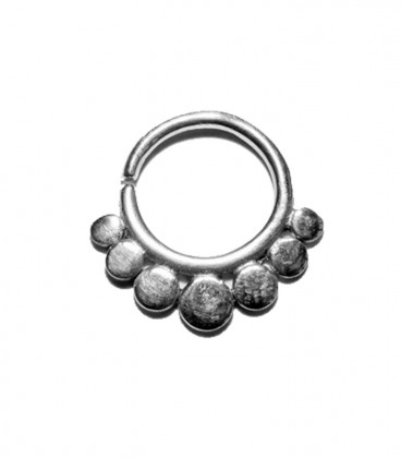 Septum 21 1,2mm silver plated