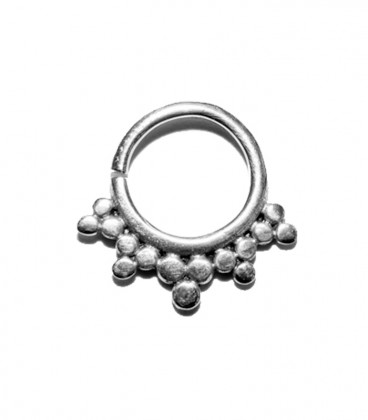 Septum 22 1,2mm silver plated