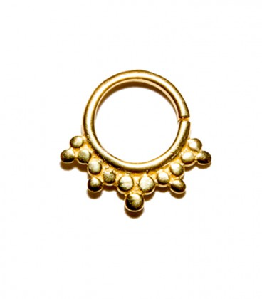 septum 7 1,2mm gold plated