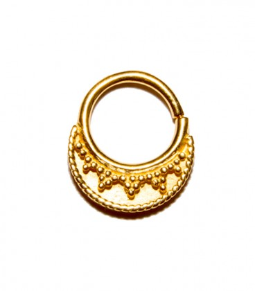 septum 8 1,2mm gold plated
