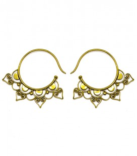 OPEN LOTUS ( Brass earing) ****SALES***SOLDES