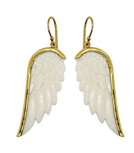 WINGS (buffalo bone and brass)