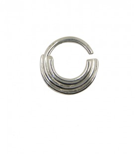 Septum 83- 1,2mm -Plain silver