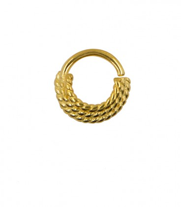 septum 85- 1,2mm -Silver gold plated