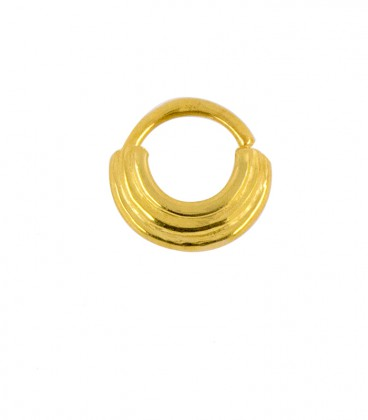 SEPTUM 88-SILVER GOLD PLATED