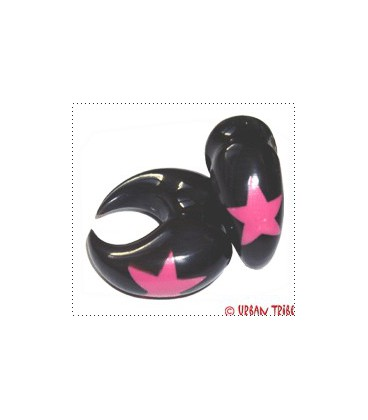 2 SIDES PINK STAR(buffalo horn)
