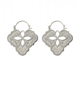 SKINNY COLLECTION -SAND DOLLAR (BRASS SILVER PLATED)