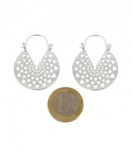COLLECTION SKINNY -LE MANDALA LAITON SILVER PLATED